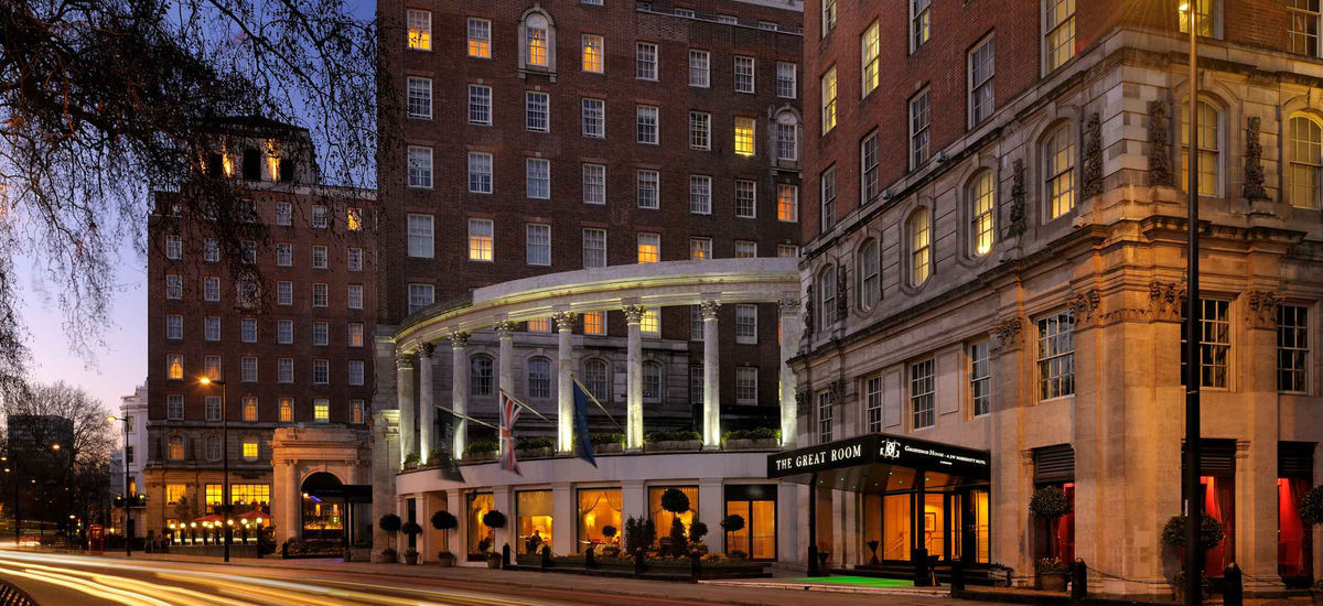 Review Executive Lounge At Grosvenor House London A JW