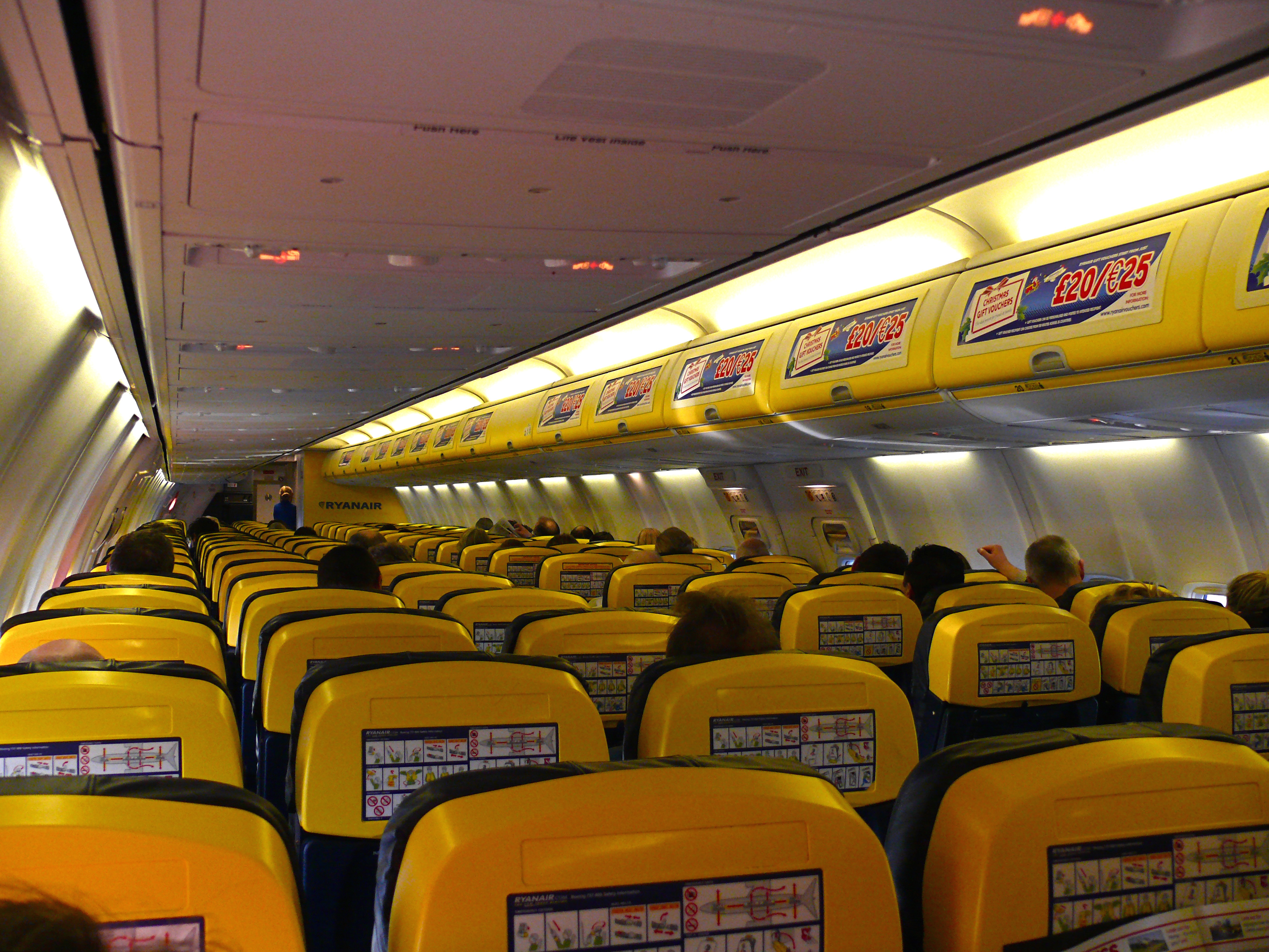 Always Getting Better? Ryanair shows off its new interior