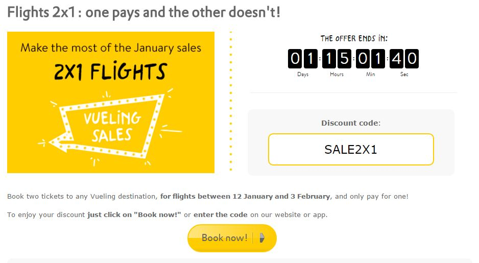Flight tickets discount coupons