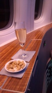 Cathay Pacific First Class - Krug Champagne