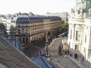 Intercontinental Paris Le Grand Suite Balcony View