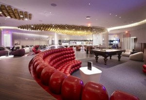 Virgin Atlantic's 'Clubhouse' Lounge at New York JFK Airport