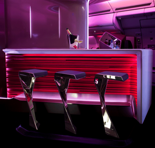 Virgin Atlantic Upper Class Bar