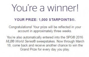 free spg points