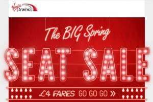 virgin trains sale