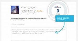 airline miles hotel reviews