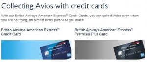 british airways uk credit card