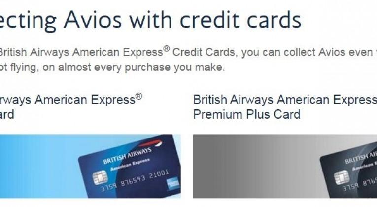 british airways uk credit card