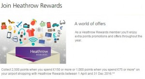 heathrow rewards