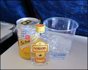 British Airways Gin and Tonic