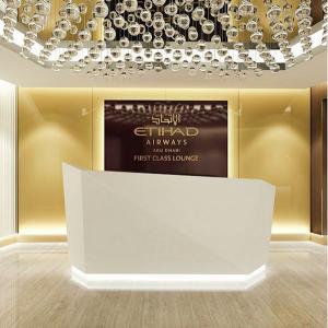 Etihad New First Class Lounge Abu Dhabi