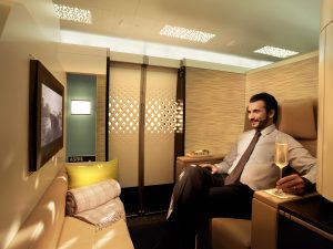 Etihad First Class 'Apartment'