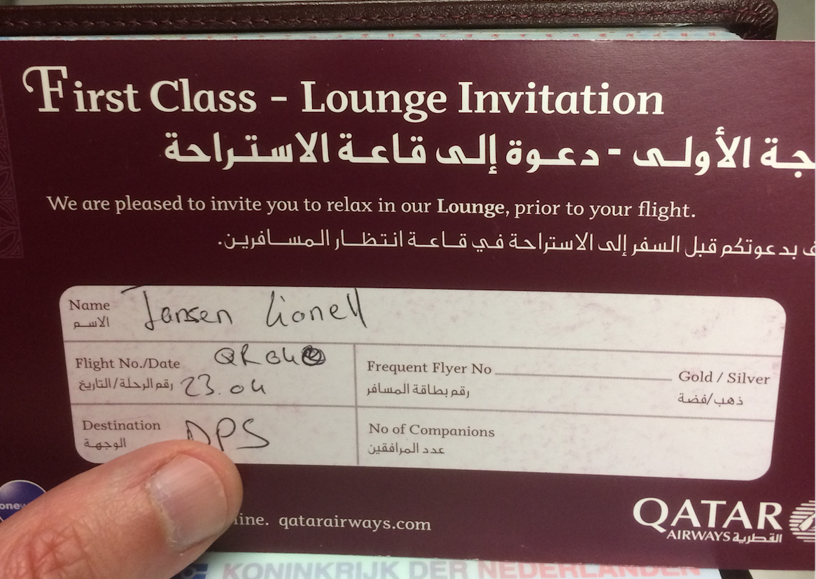 Review qatar airways first class paris to doha for Salon qatar cdg