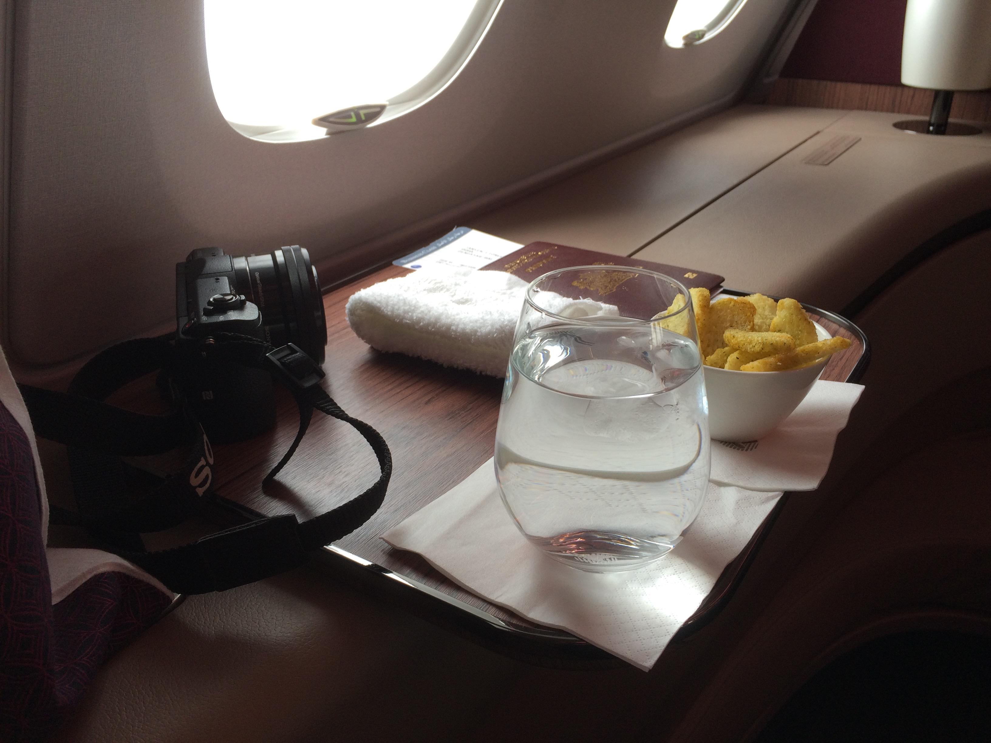 Review Qatar Airways First Class Paris To Doha Insideflyer Uk
