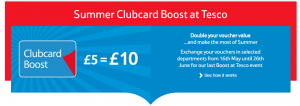 clubcard boost