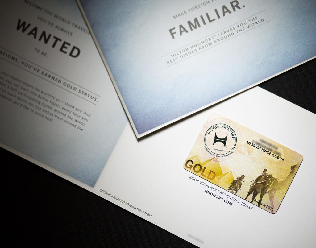 Free Instant Hilton HHonors Gold Status - InsideFlyer UK