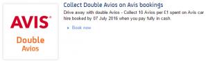 Avis double avios