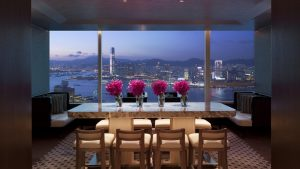 COnrad hong kong executive lounge