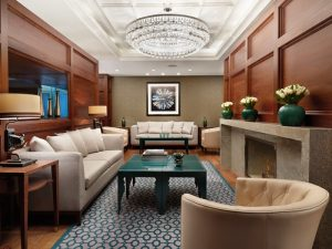 Executive Lounge at the Conrad St. James, London