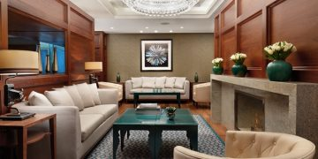 Executive Lounge at the Conrad St. James, London