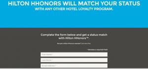 Hilton status match image