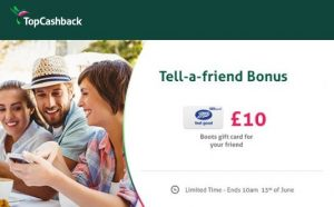 free boots gift voucher