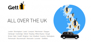 gett uk cities