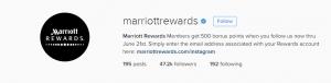 marriott instagram 2