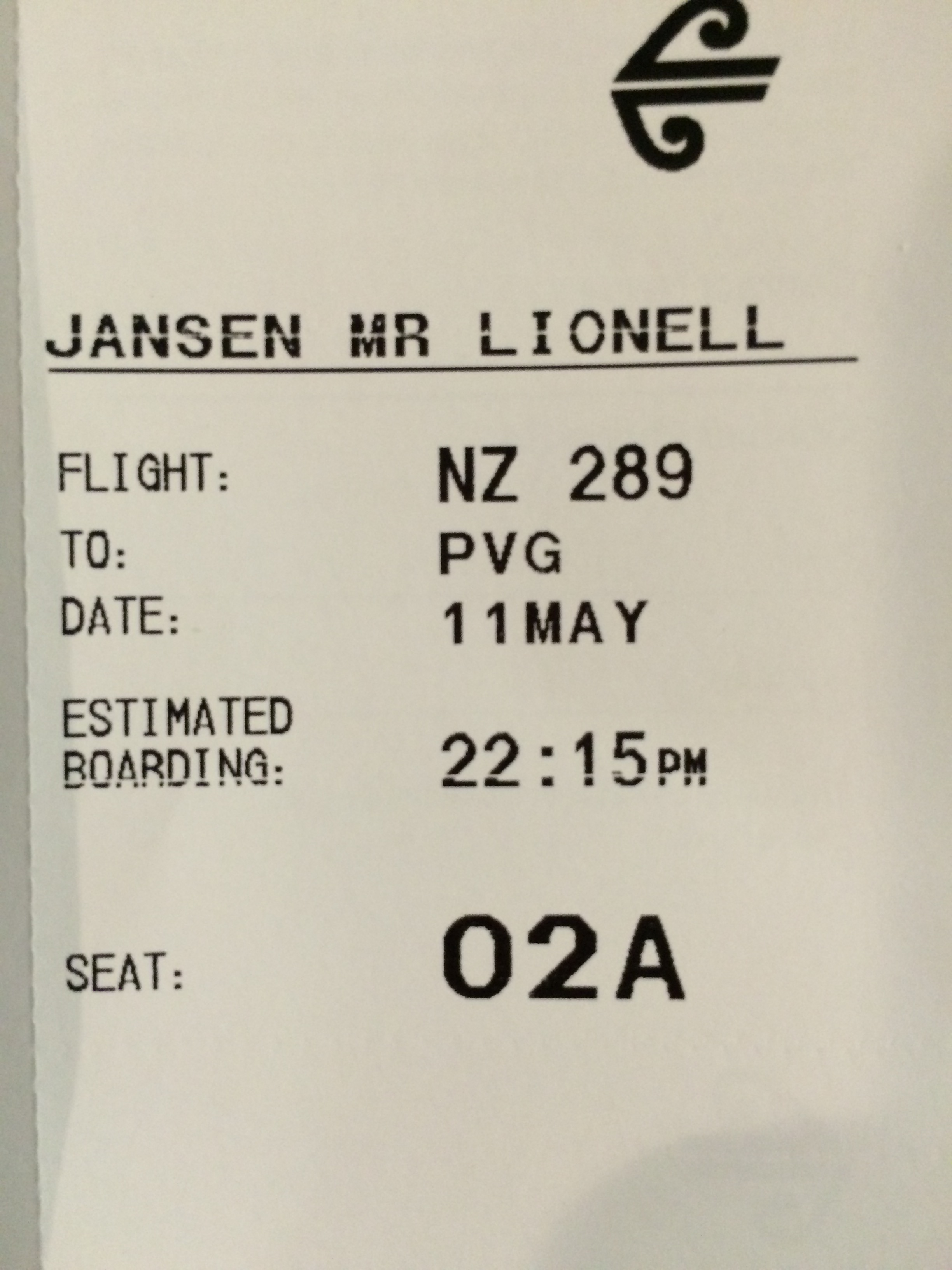 Review Air New Zealand Business Class Auckland To Shanghai