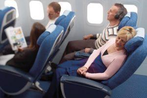British Airways BA premium economy