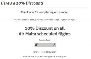 air malta promo code