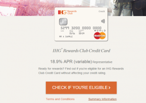 free ihg rewards club credit card
