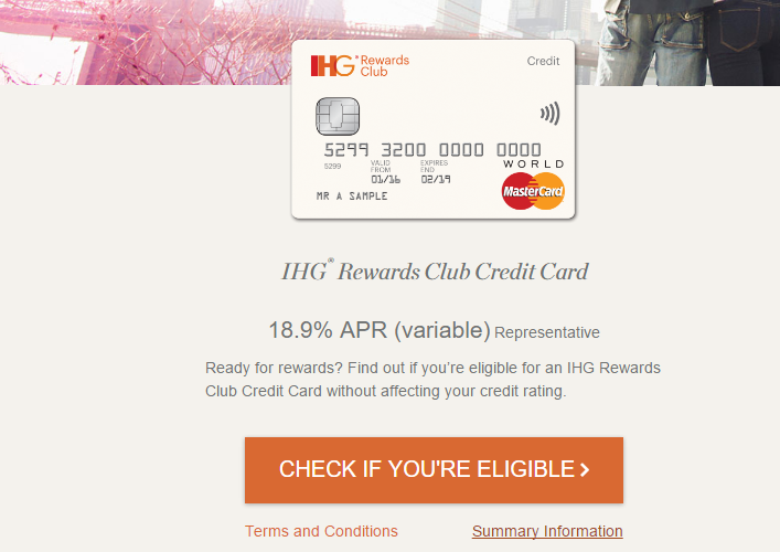 UPDATE) Free IHG Rewards Club Credit Card Now Available Too