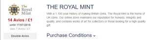 royal mint avios