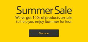 tesco summer sale
