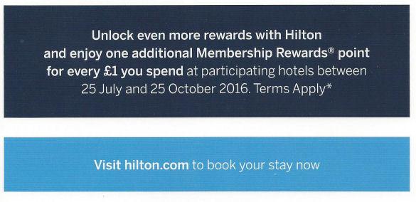 hilton offer