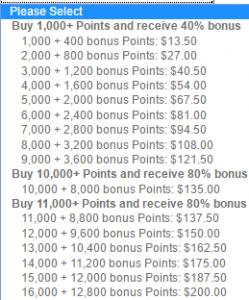 ihg bonus points sale 2