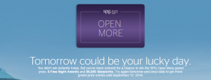 spg starwood free points gme 2