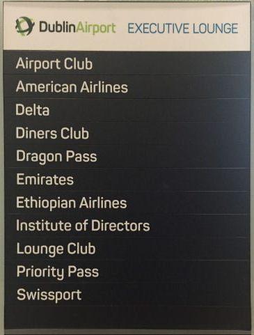 dublin executive lounge