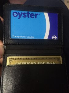 Oyster or AmEx? Its an easy choice!