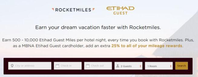 bonus Etihad guestmiles with rocketmiles