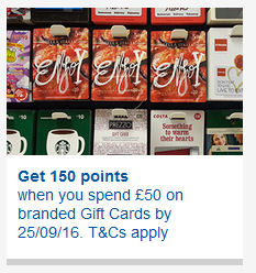 clubcard points
