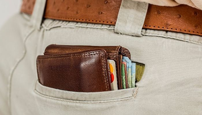 Keep your wallet in your pocket