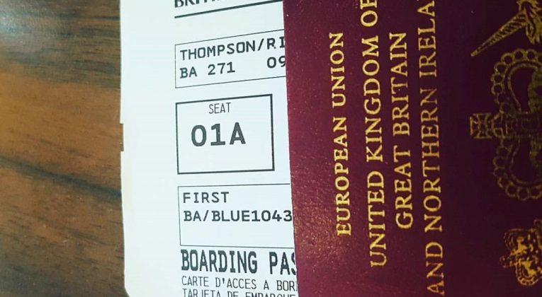 First Class Boarding Pass