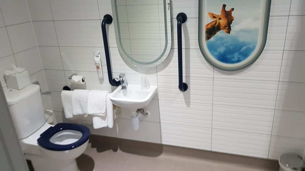 Ibis Styles LHR Accessible Wetroom