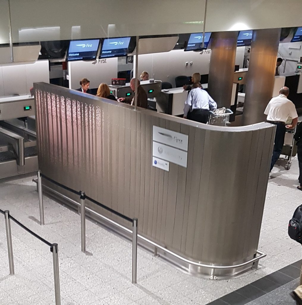BA First Class Check-In Area, Heathrow Terminal 3