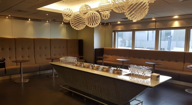 Self-pour Champagne Bar. My favourite kind...