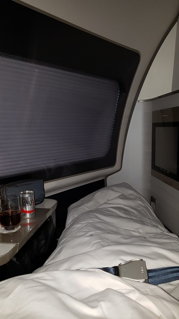 Snug at 40,000FT