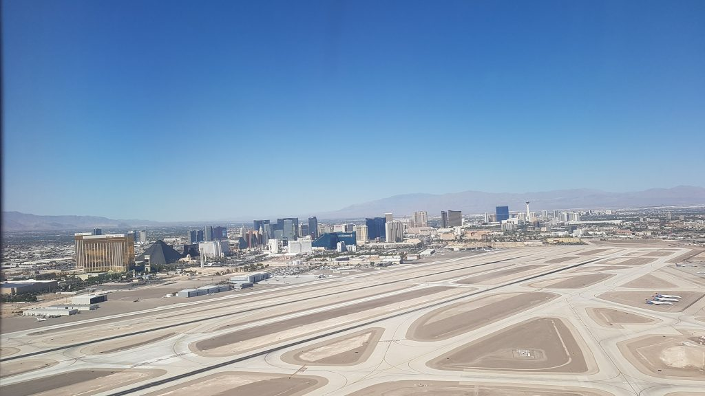Taking off from LAS