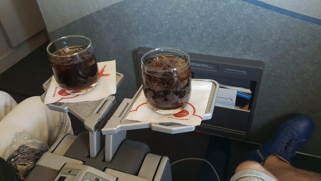 Drinks on AA First LAS-LAX